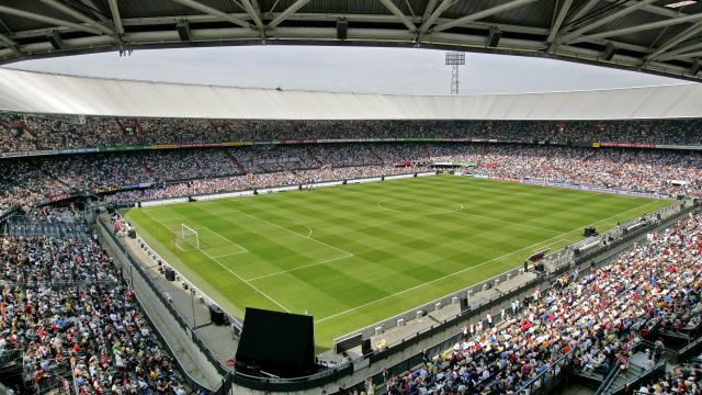 Bekerfinale Feyenoord - FC Utrecht